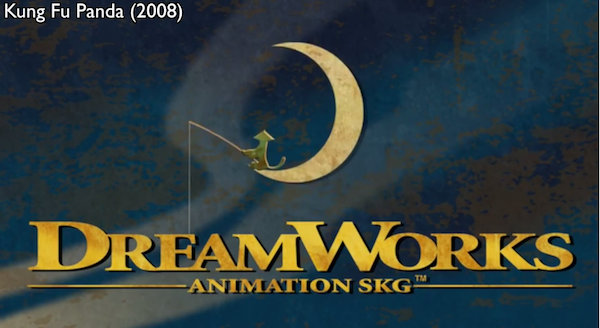 fascinating    dreamworks animated logo evolved  time designtaxicom