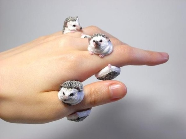 lovely handmade rings that dress up your fingers with cute. Black Bedroom Furniture Sets. Home Design Ideas