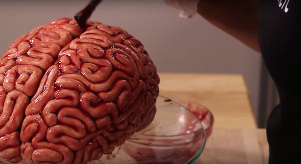 Funny Creative Tutorial On Making A Realistic Human Brain