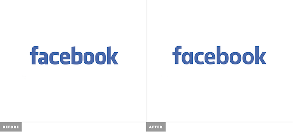 Can You Spot The Difference Between The Old New Facebook Logo