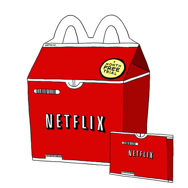 Fabuleux Quirky, Humorous McDonald's Happy Meal Boxes Made For Adults  IV93