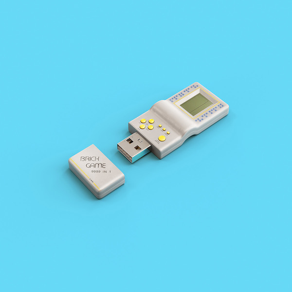 cool usb sticks that look like vintage gaming consoles other retro devices. Black Bedroom Furniture Sets. Home Design Ideas