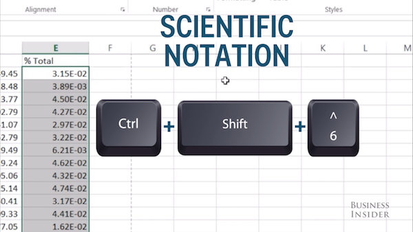 how to turn off scientific notation in excel