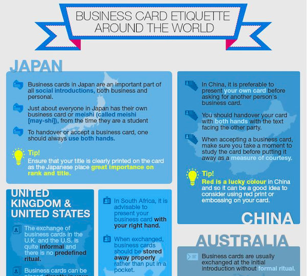Business cards etiquette around the world how to design a good one business cards etiquette around the world how to design a good one designtaxi reheart Images