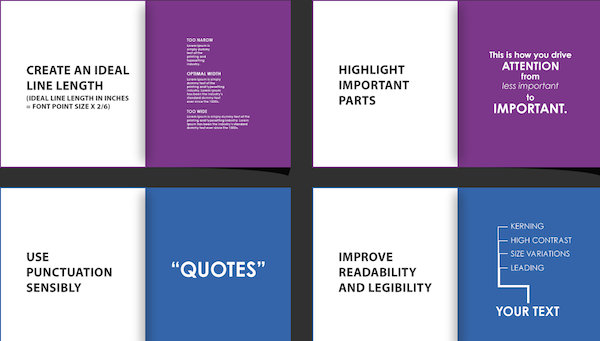 Infographic: 14 Principles Of Using Text In Design