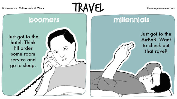 The Differences Between Millennials Amp Baby Boomers At Work