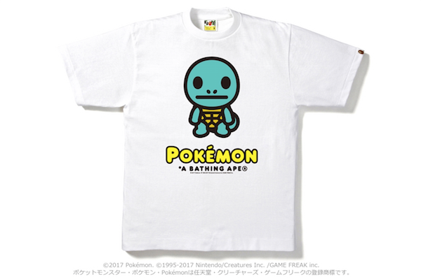 452cbf4b BAPE And Pokémon To Release Exclusive T-Shirt Collection ...
