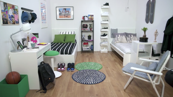 ikea and hypebeast join forces to design the perfect dorm room