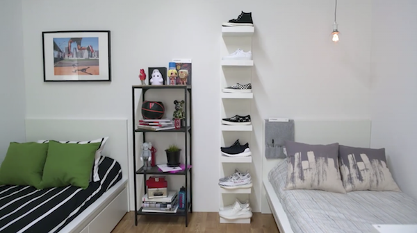 IKEA And HYPEBEAST Join Forces To Design The Perfect Dorm Room on Ikea Small Bedroom Design Ideas