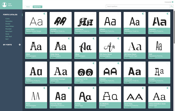 'Letrs': The Typeface Library That's Like A 'Spotify For Typographers' - DesignTAXI.com
