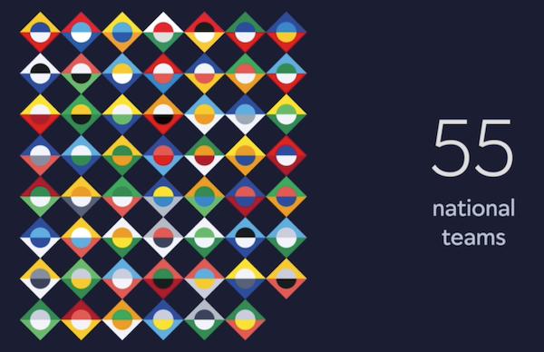 uefa nations league unveils colorful logo inspired by country flags designtaxi com uefa nations league unveils colorful