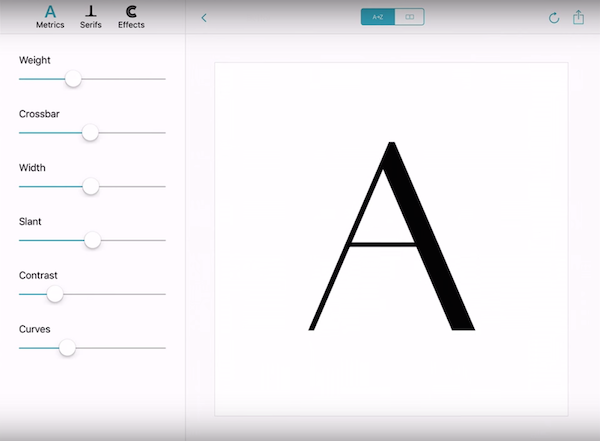Adobe's Awesome New App Lets You Design Custom Typefaces Quickly And Easily