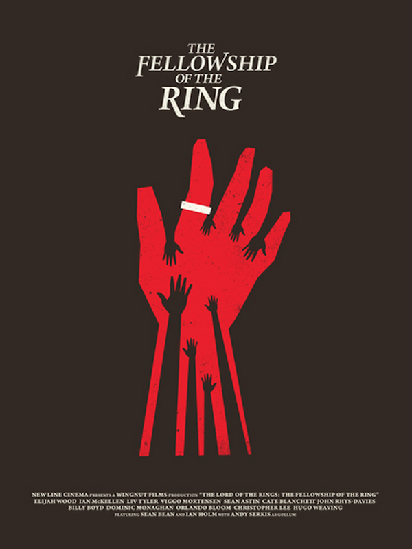 Minimalist Illustrated Redesigns Of Iconic Movie Posters Made With Just 3 Colors
