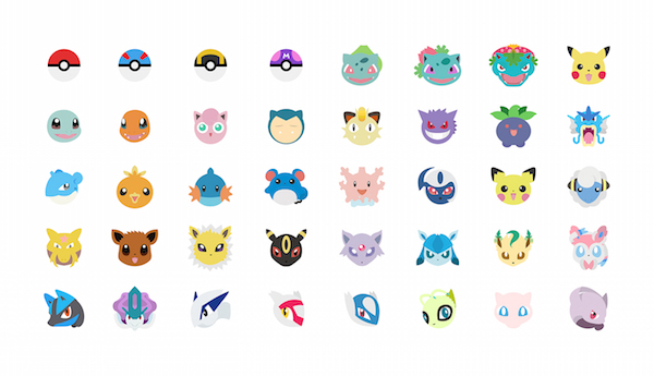 Designers Imagine Cute Pokémon-Themed Emoji Keyboard You