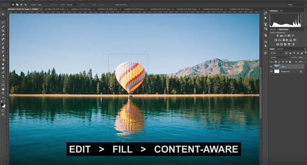 Powerful Photoshop Hack Enables You To Remove Unwanted Objects Very Easily