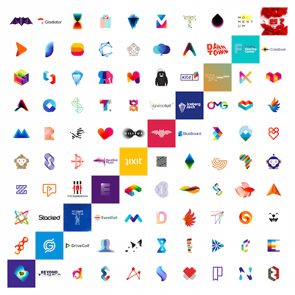 Designer Shares 100 Of His Best Logos To Celebrate 10 Years In The Business