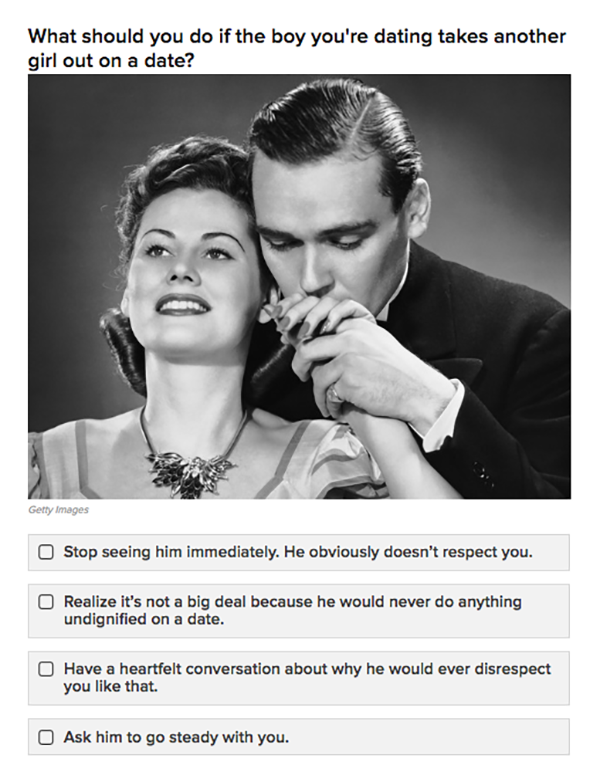 Quiz Are You A Good Girlfriend According To A 1950s Dating Guide