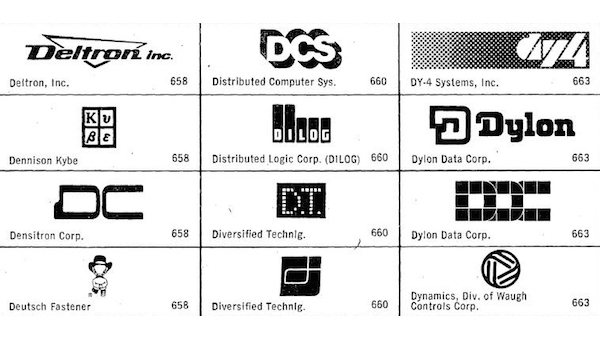In One Free PDF, Hundreds Of 1980s Tech Logo Designs For Your Inspiration