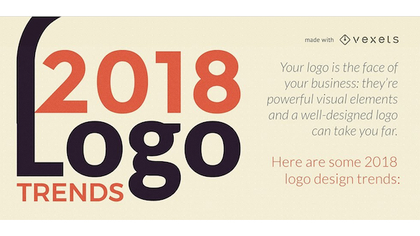 infographic 2018 logo design trends not to be missed designtaxi com