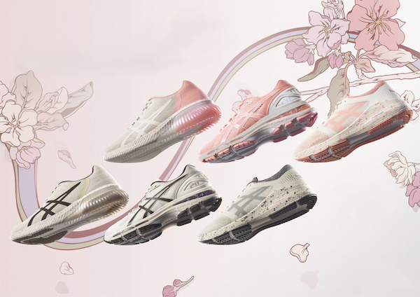 ASICS' 'Cherry Blossom' Collection Is