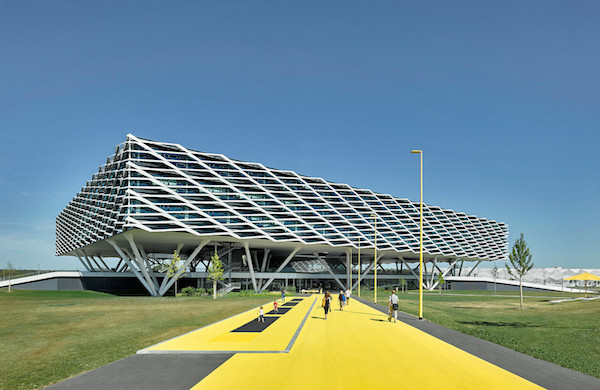 adidas' Office Block Resembles Sports Arena That Can House 2,000 Employees