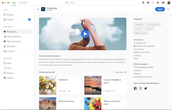 Adobe Redesigns Creative Cloud Desktop App Into An All-In-One Asset Library