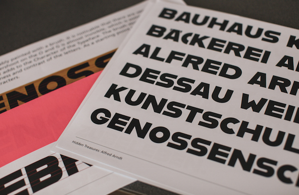 Adobe Revives Unfinished Fonts From German Design School Shut Down In 1930s - DesignTAXI.com