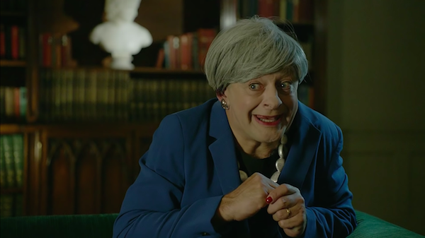 Andy Serkis Channeling 'Gollum' As Theresa May To Mock Brexit Will Crack You Up