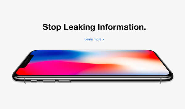 Apple Leaked Memo About Leaking 1a