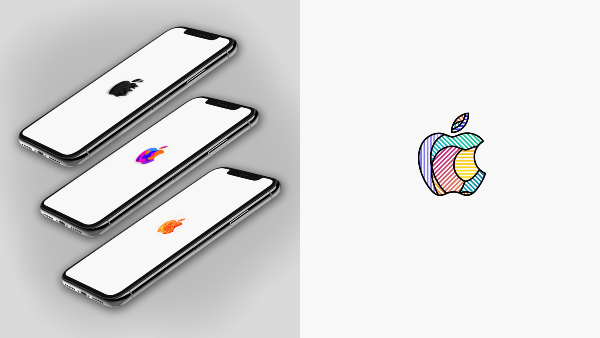 Apple's Myriad October Event Logos Now Available As Still & Live Wallpapers