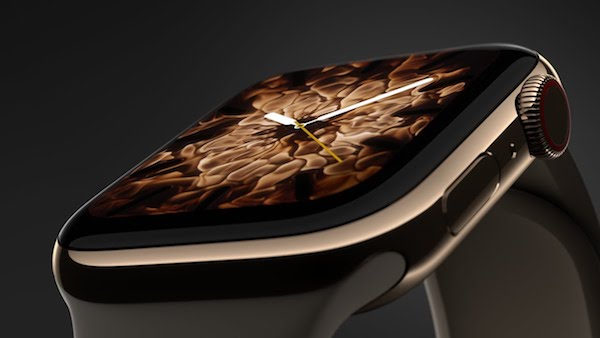 Watch How Apple Watch 4's Live Wallpapers Were Made Using Real Fire And Water - DesignTAXI.com