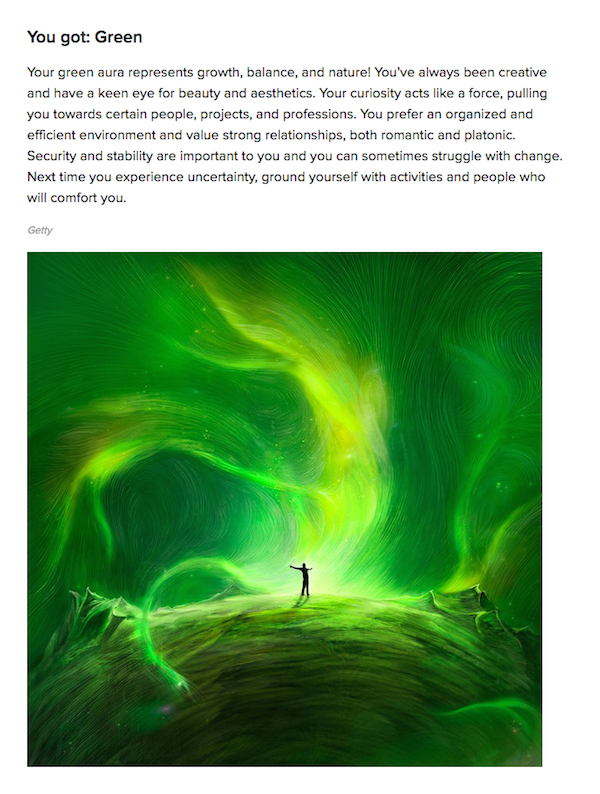 How to find the color of your aura