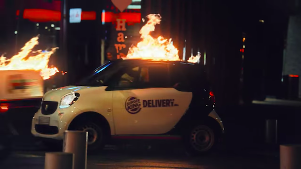 Burger King's Stunt Ad Shows How Much Its Delivery Service