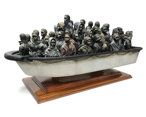 Banksy Offers Large Boat Sculpture For Just US$2.55, If You Can Guess Its Weight