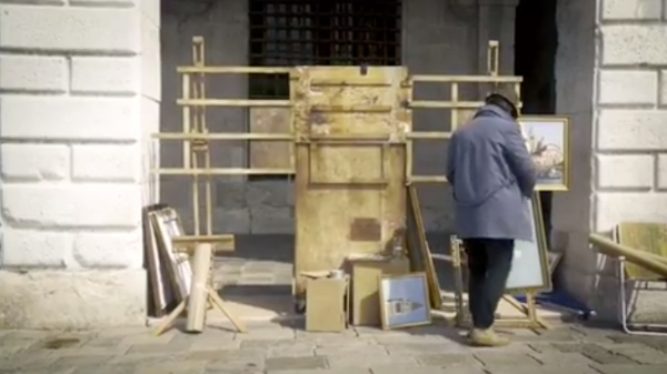 Banksy Sets Up Own Venice Biennale Stall As He Wasn't Invited, Gets Chased Out