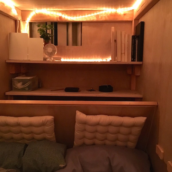 Creative Builds Tiny Bedroom 'Pod' To Tackle San Francisco