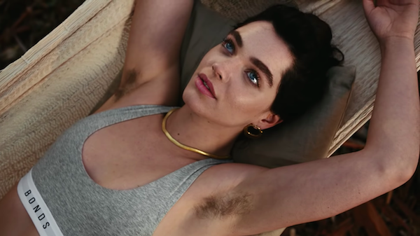 Bonds Sexy And Strong Ad With Underarm Hair Debuts Its -9411