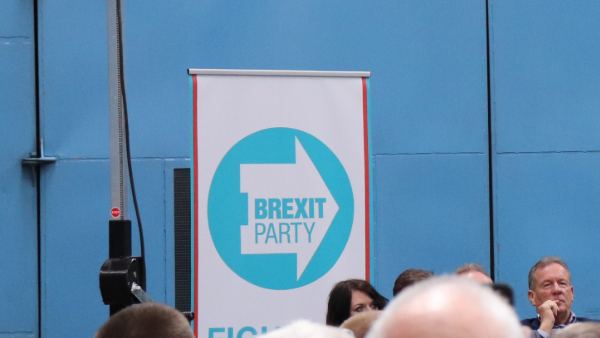 Brexit Party's Logo Has Internet Splitting Its Sides Over Ominous