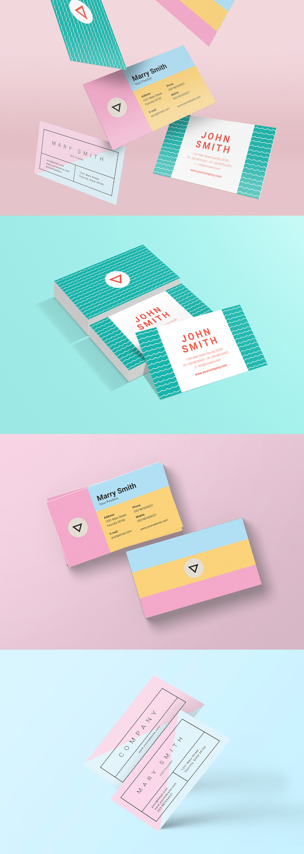 10 Eye-Catching Business Card Designs That Will Leave A Lasting Impression