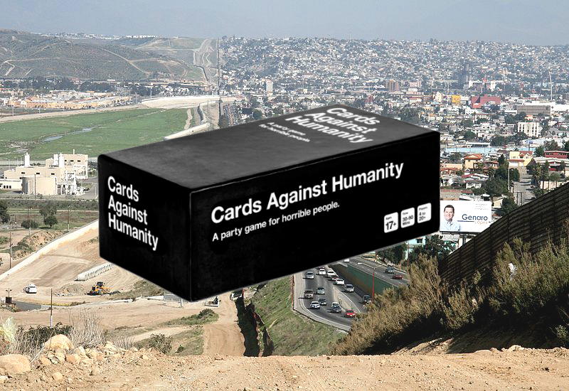 'Cards Against Humanity' Purchases Land On US-Mexico Border To 'Save America' - DesignTAXI.com