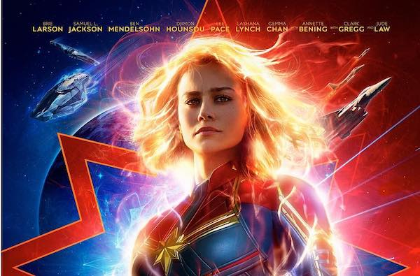 Movie Poster 2019: 'Captain Marvel' Poster Comes To Life When Animated In