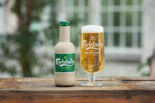 Carlsberg Is Creating Paper Beer Bottles To Sub For Glass & Metal