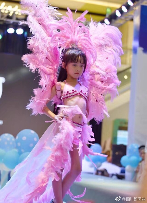 Young Girls In China Appallingly Strut Down Victorias Secret-Style Catwalk Show -4045