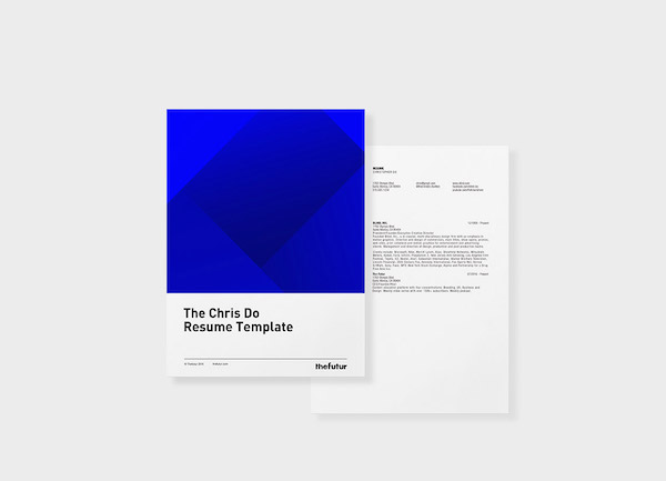 Renowned Design Mentor's Personal Résumé Template Is Now Free-To-Download - DesignTAXI.com
