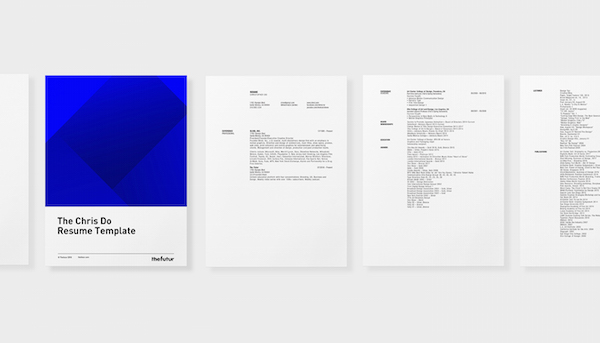 Renowned Design Mentor's Personal Résumé Template Is Now Free-To-Download