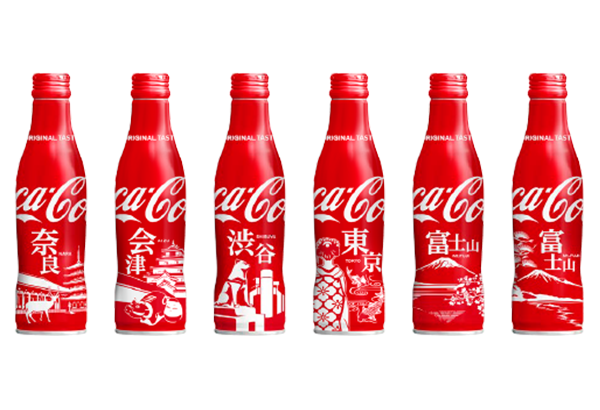 Coca-Cola Unveils New Bottle Designs Inspired By Japan's Most Memorable Icons - DesignTAXI.com
