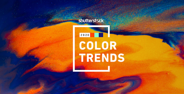 Shutterstock's Color Trends Report Reveals Hues To Highlight The Year 2020