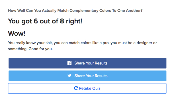 Quiz: Can You Match Complementary Colors According To Adobe