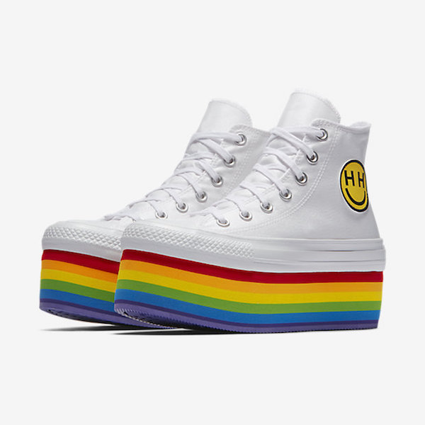 Miley Cyrus x Converse Unveil Colorful 'Pride Collection' To