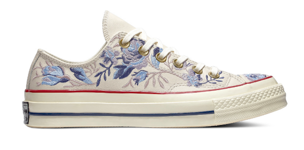 68624e7c3384 Converse s Lovely Embroidered Floral  Chuck Taylors  Has Summer In ...